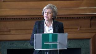 Theresa May: Leaving EU won't solve immigration