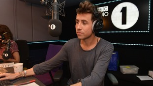 The 28-year-old presenting his brand new Radio 1 Breakfast Show.