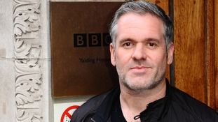 Chris Moyles leaves Radio 1 after his final breakfast show in London earlier this month.