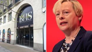 Angela Eagle said UK high streets face a