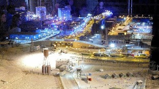 The installation by Jimmy Cauty is known as Aftermath Dislocation Principle