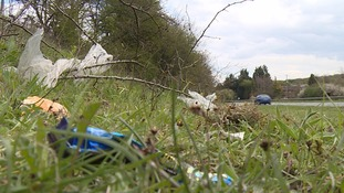 Campaigners say roadside litter 'getting worse'
