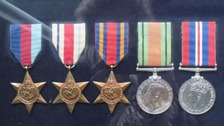 Two sets of medals were stolen from a Plymouth home in January