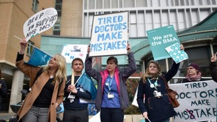 How will A and E cope during doctors' strikes?