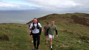 Royal Marine attempts to run 630 miles of the South West Coastal footpath in 10 days