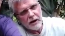 John Ridsdel in video footage previously released by his captors