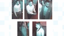 Police issue CCTV of men wanted over brawl in Leeds bar after MOBO Awards