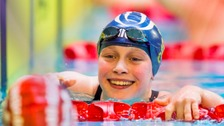 Ellie Robinson set a new British record.