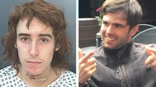 Samuel Donley (left) stabbed Liam Miller to death in York
