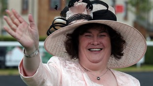 Susan Boyle escorted out of Heathrow lounge after 'disagreement' with staff