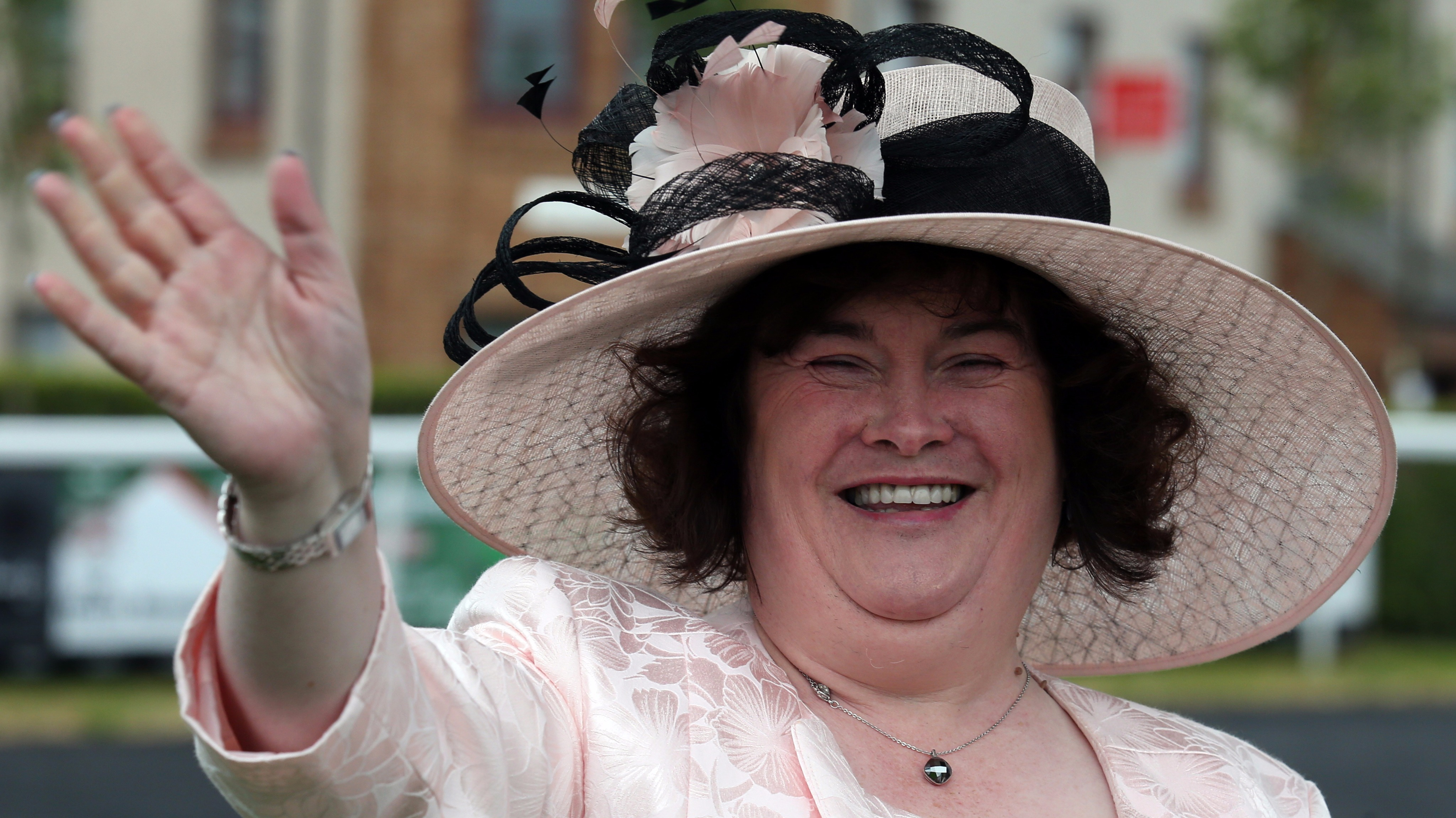 Susan Boyle Escorted Out Of Heathrow Lounge After