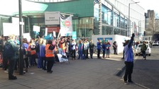Junior doctors take part in first all-out strike