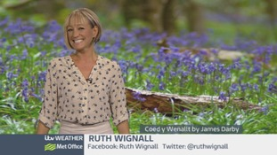 Wales Weather: More wintry flurries in the forecast!