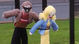 Mystery knitter reveals identity