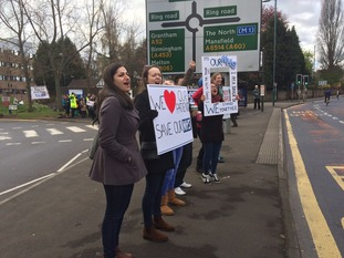 Junior doctors in England are withdrawing emergency care