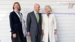 Duchess of Cornwall opens latest Maggie's Centre