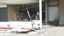 Cash-point robbery explosion at Shirehampton post office