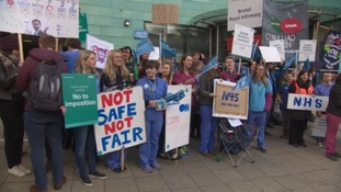 Junior doctors set to begin second day of all-out strike