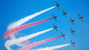 Red Arrows given green light for display in public