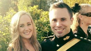 Girlfriend pays tribute to army captain who died in London Marathon