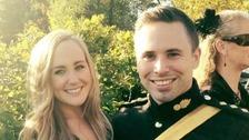 Girlfriend's tribute to soldier who died running London Marathon