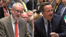 Jeremy Commons during Prime Minister's Questions.