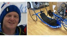 Paralympian Tim Farr reunited with stolen bike