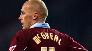 John McGreal during his playing days for Burnley.