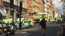Woman killed after being hit by lorry in Westminster