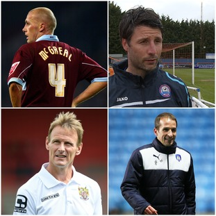 Could any of these four be the next Colchester manager?