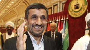 Iran's President Ahmadinejad