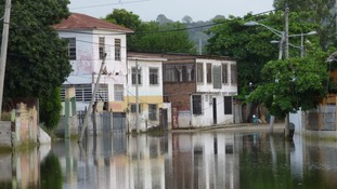 Flooding and structural damage has left families without clean water