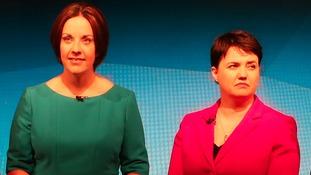 Scottish Labour Party leader Kezia Dugdale, Scottish Conservative leader Ruth Davidson