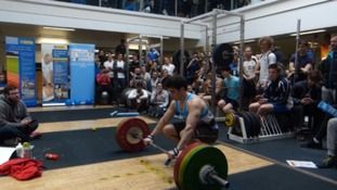 Weight lifting world record broken in Bath