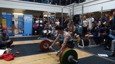 Weight lifting world record broken in Bath