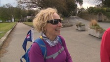 Action Nan feeling 'on top of the world' after completing gruelling challenge