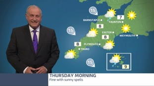 A mixed picture today - sunshine and showers