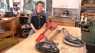Simon Farmer owns Gus Guitars