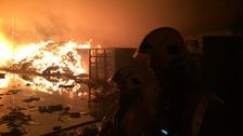 Fire in Oldbury
