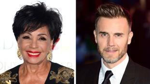 Dame Shirley Bassey and Gary Barlow OBE