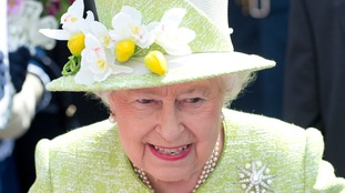 The Queen on her 90th birthday