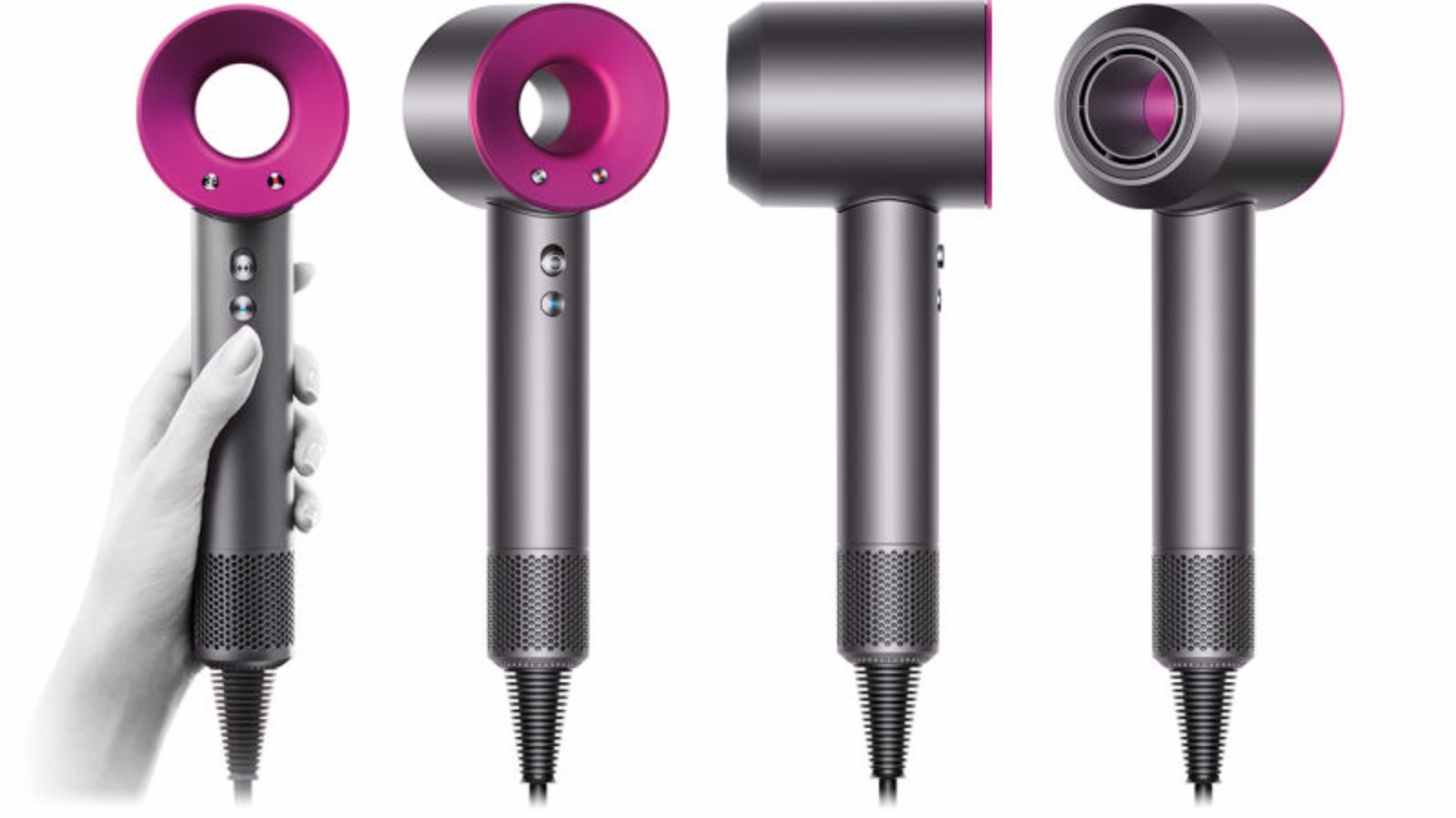vacuum firm dyson unveils 299 39 supersonic 39 hairdryer. Black Bedroom Furniture Sets. Home Design Ideas