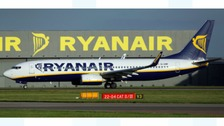 Ryanair flight to Malaga from Newcastle cancelled