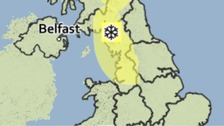 Warning in place 00.05am Friday 29th April until 10am