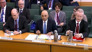 Sajid Javid called 'disgraceful' after SSI closed on 'his watch' in MP hearing