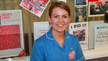 Charlotte Treloar raised money for the British Heart Foundation