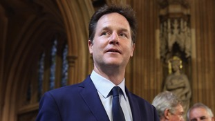 Nick Clegg was surprised by Ken Livingstone's comments.