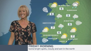 Wales Weather: Looking a little better later!