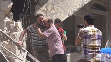 Patients and doctors killed in Syria hospital airstrike