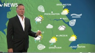 Friday's early morning forecast